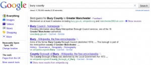 Google Best Guess: Bury County