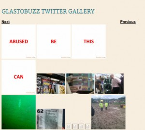 GlastoBuzz - An Unmoderated Twitter Feed