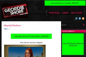 Geordie Shore: AdSense Placement and Positioning
